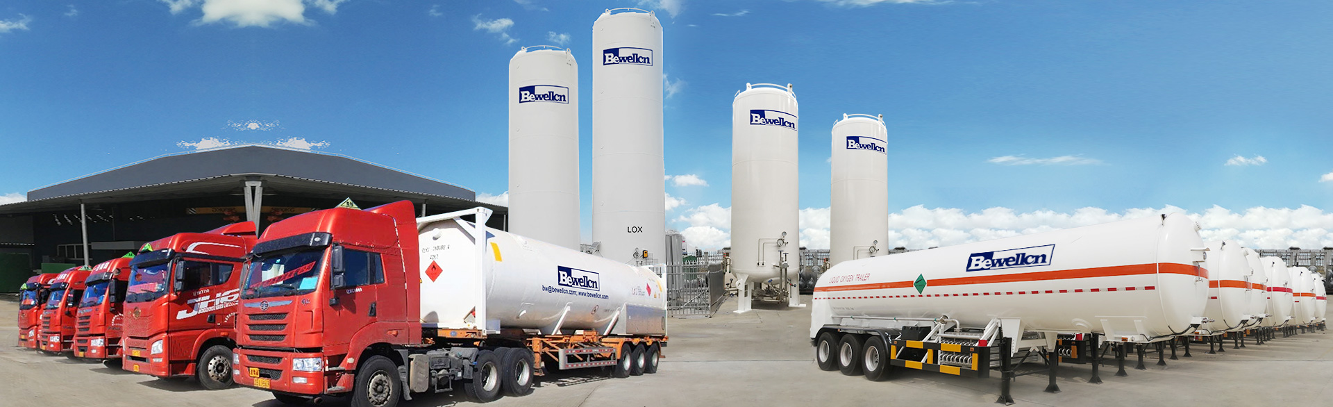 35m3 Liquid Nitrogen Semi Trailer